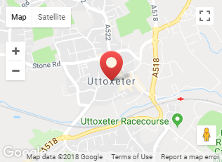 Covereage of Uttoxeter
